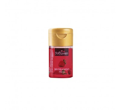 GEL AROMATIZANTE HOT - MORANGO 15 ml